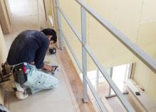 鉄骨階段設置